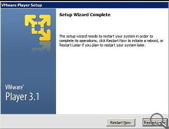 Aplicatia VMware Player - gratuit